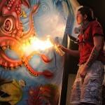 Giovanni Santiago mural artist