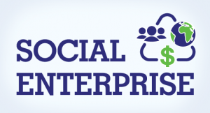 Social Enterprise graphic = people planet profit