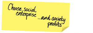 social enterprise choose and society profits